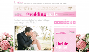 Priory Cottages Wedding Featured on Brides Up North