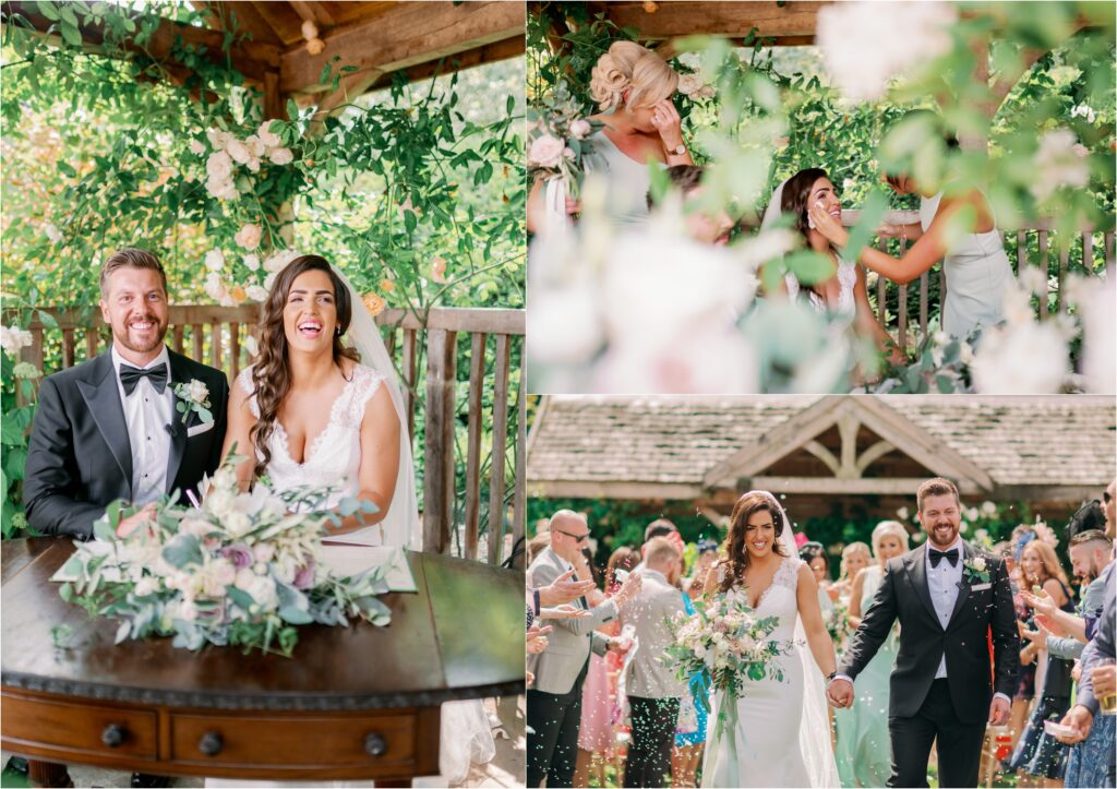 Light and Airy Wedding at Middleton Lodge